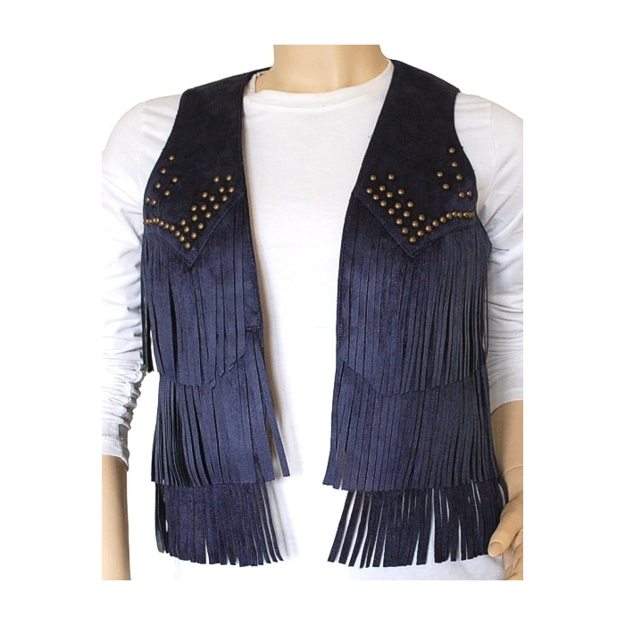 gilet country femme