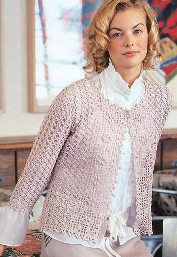 Gilet Femme Au Crochet Modele Gratuit