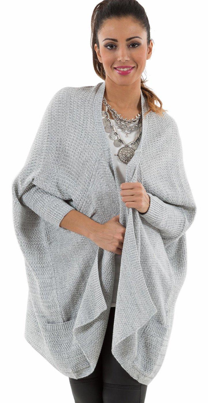gilet femme gris