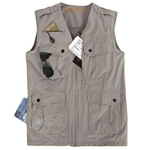 gilet multipoches femme