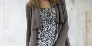 Modèle tricot gratuit gilet femme